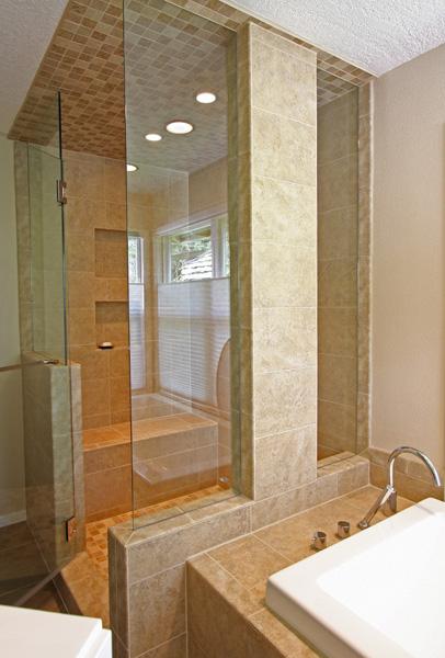 Grether Residence Master Bathroom Remodel Northwest