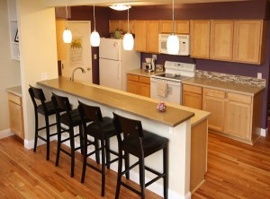 Remodeled kitchen as part of Addition
